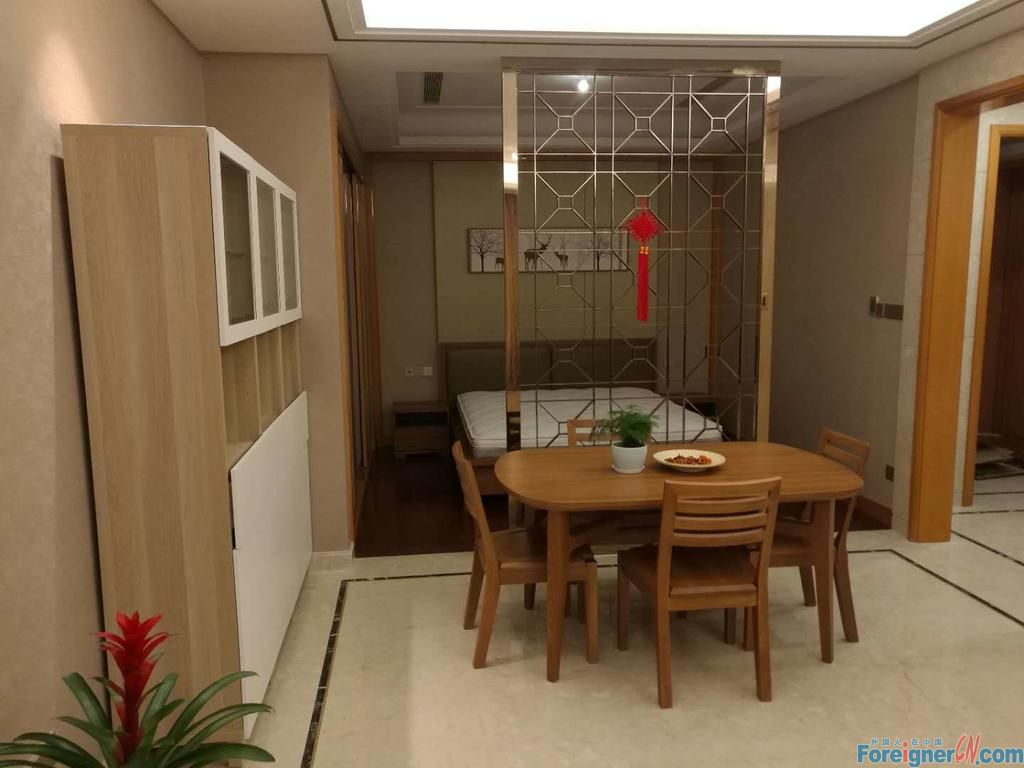 SIP Suzhou center 1BR  first for rent