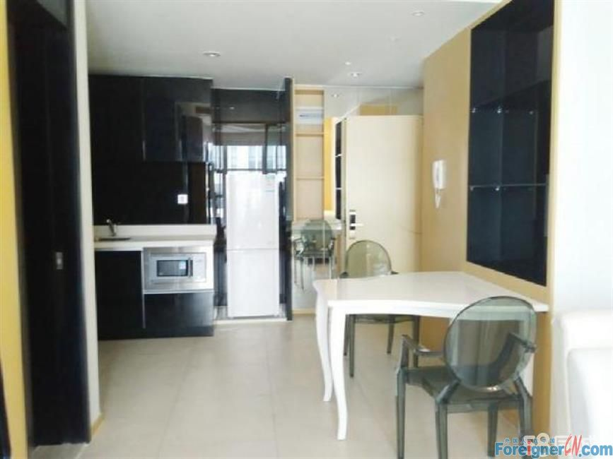 Hangzhou Apartment with one bedroom for Rent in Binjiang Center