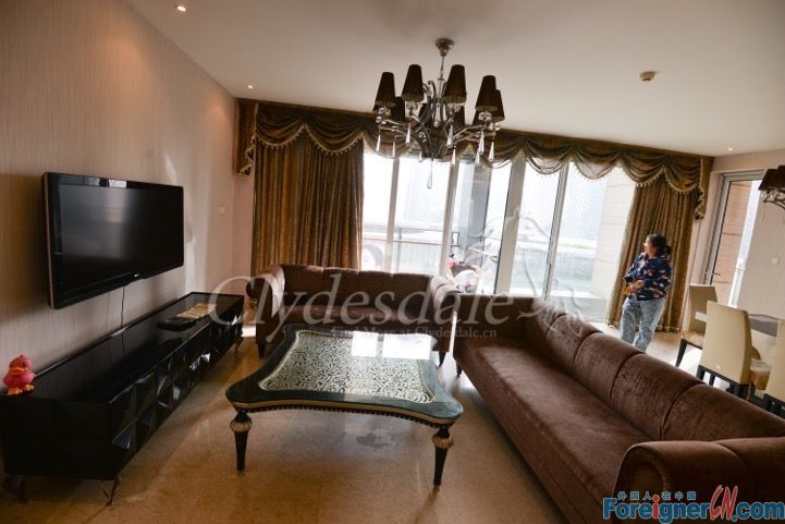 Hangzhou Apartment 3br for Rent which is close to the MixC MC0004