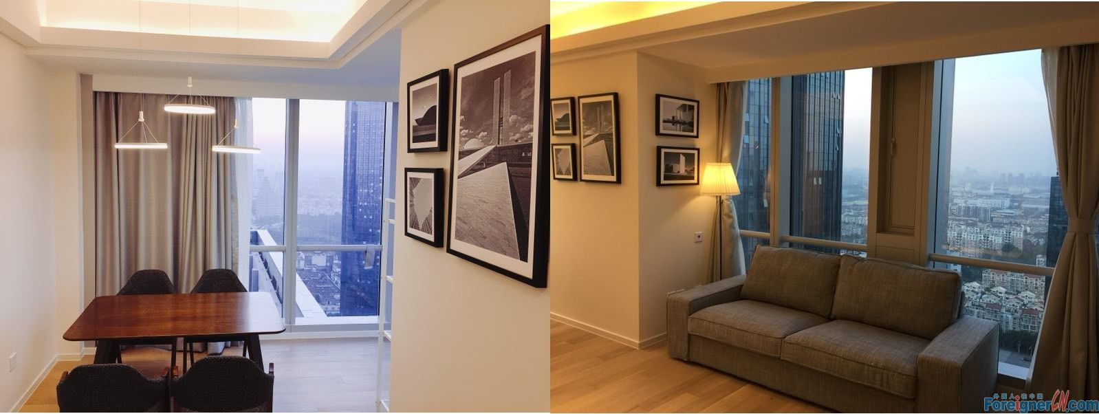 Check it out!The Summit-Xinghai Square-2 bedrooms-underfloor heating-convenient traffic-good location
