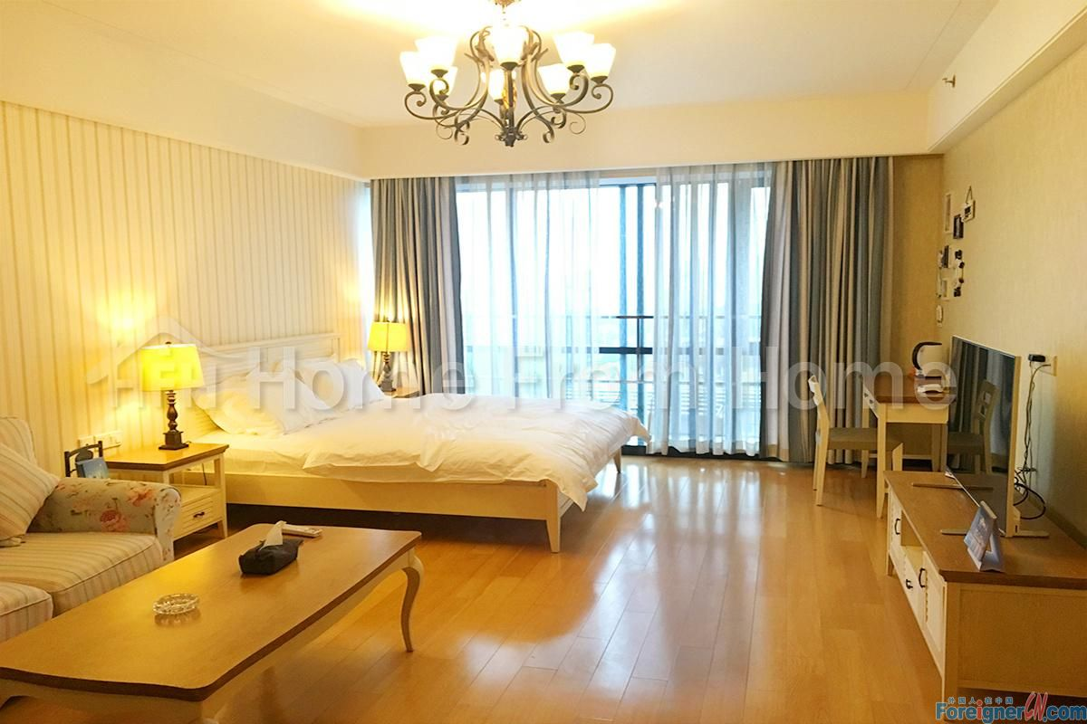 Jinhope service apartment/nice service apartment in Timesquare/ Suzhou SIP CBD/ brand new apartment/ first time to rent/floor heating /central ac