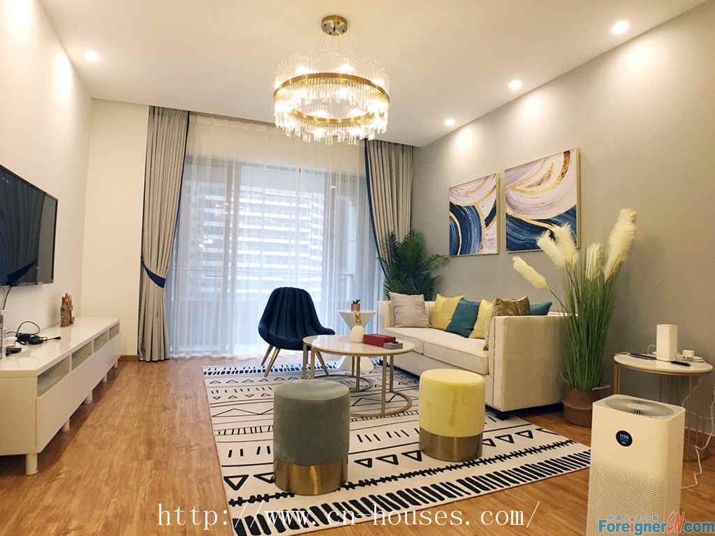 J-living Apartment-3brs,fully furnished,luxurious,good community environment,suitable for living.