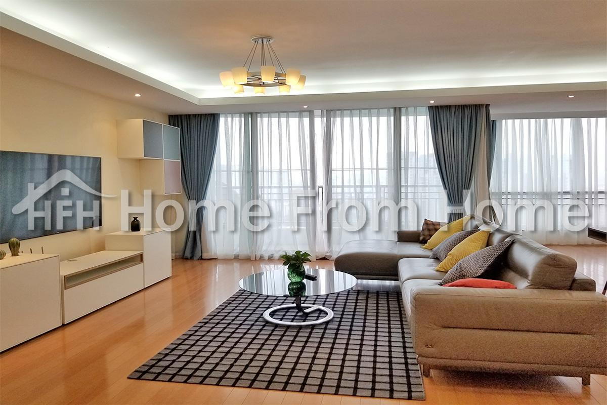 Bailing Mansion/big apartment for rent/222sqm/3bdrs/perfect location