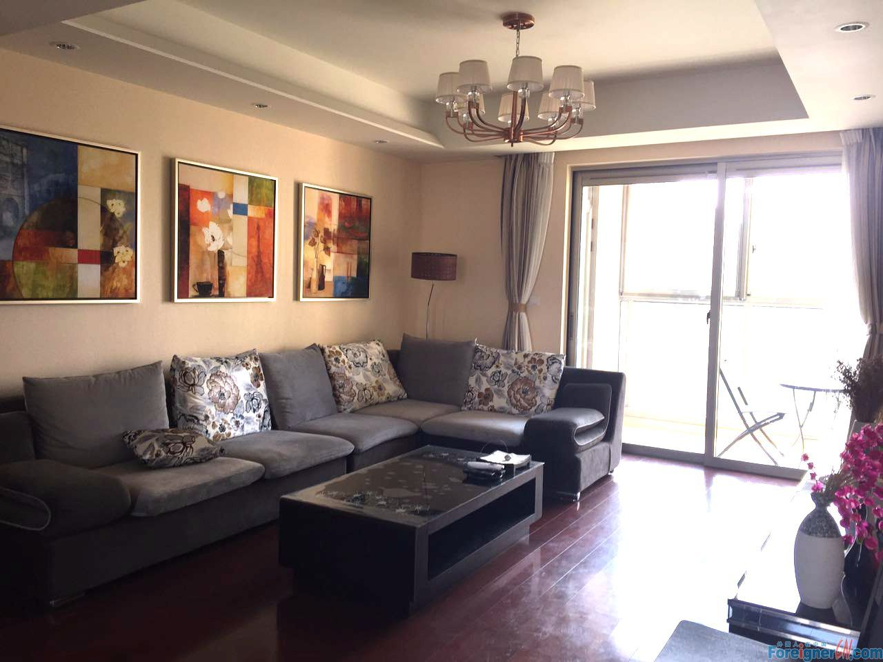 Great!Grace Residence-Times Square-3 bedrooms-underfloor heating-lake view-convenient traffic