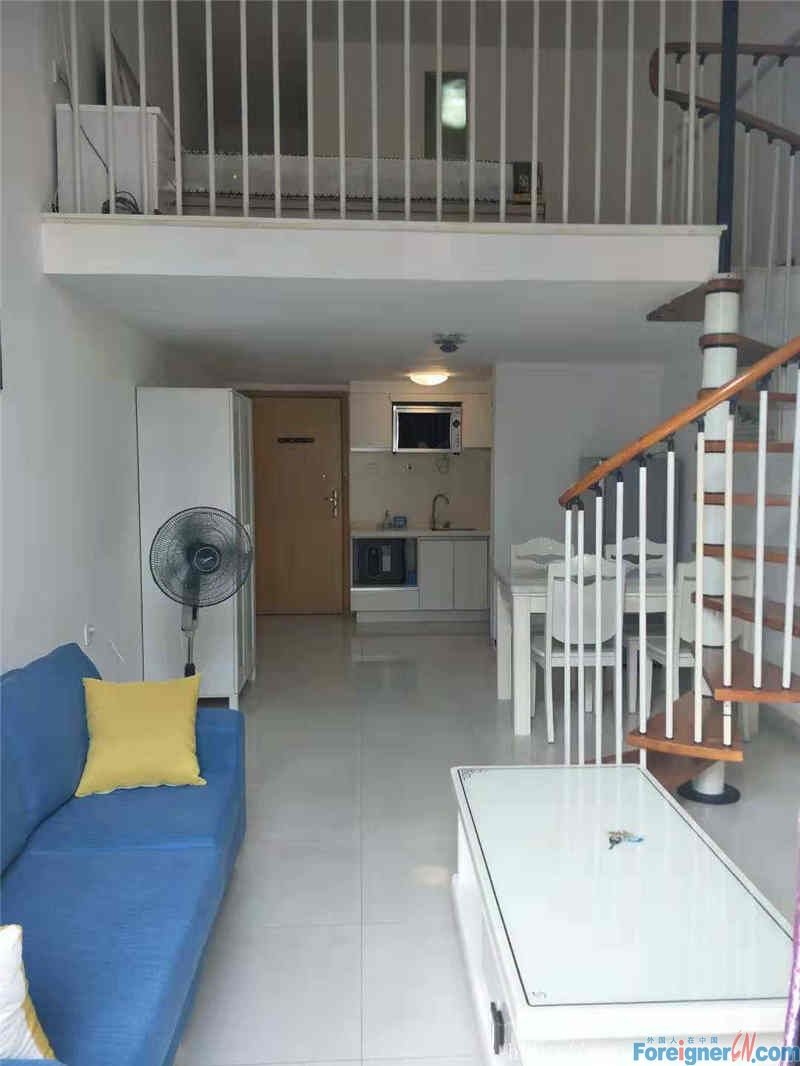 Duplex, modern clean, fully furnished, walking distance to subway station.
