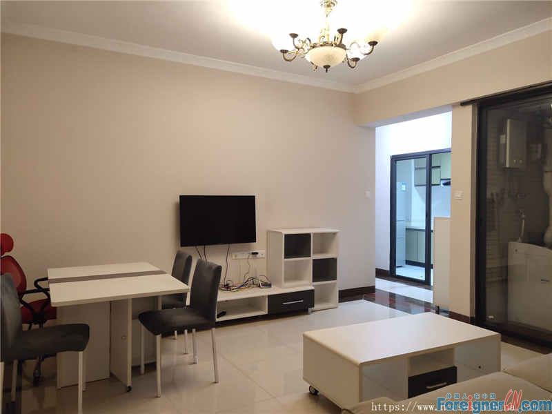 2Br,modern simplicity, fully furnished, new construction,neary the subway station.