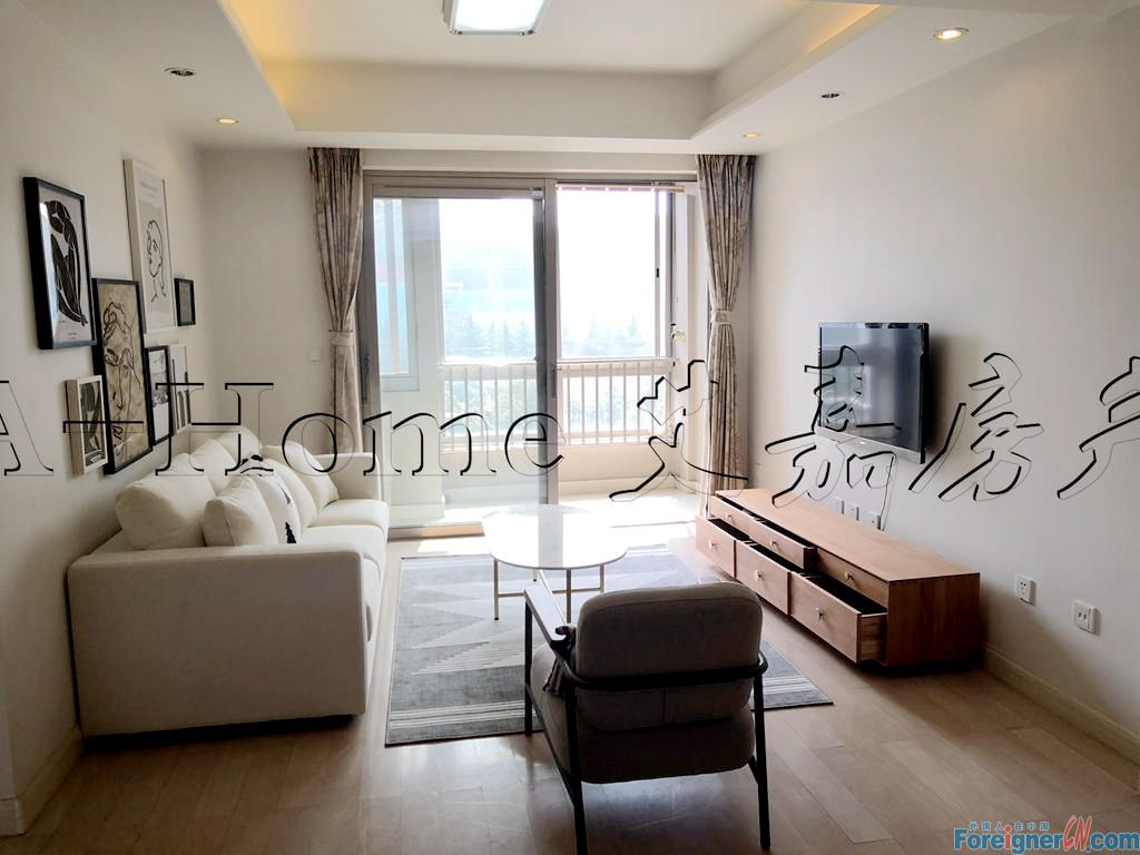 Time Square/Modern 2 beds/Floor Heating/Central ac/Near Metro