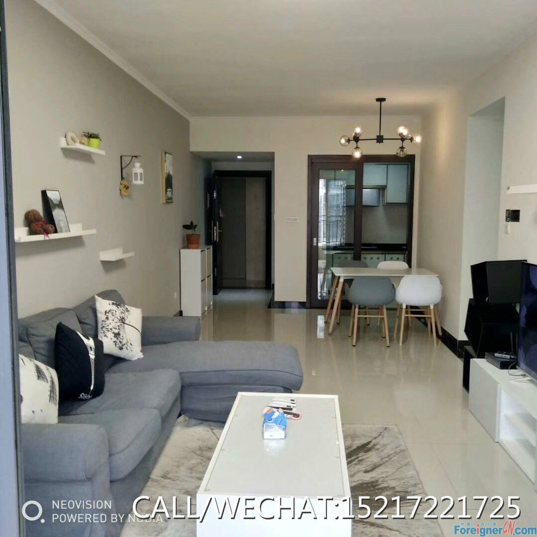 new lease of 2brs avaliable now,concise style,high floor,nice view,good layout,nearby the metro station,gym,swimming pool etc,super convenient.