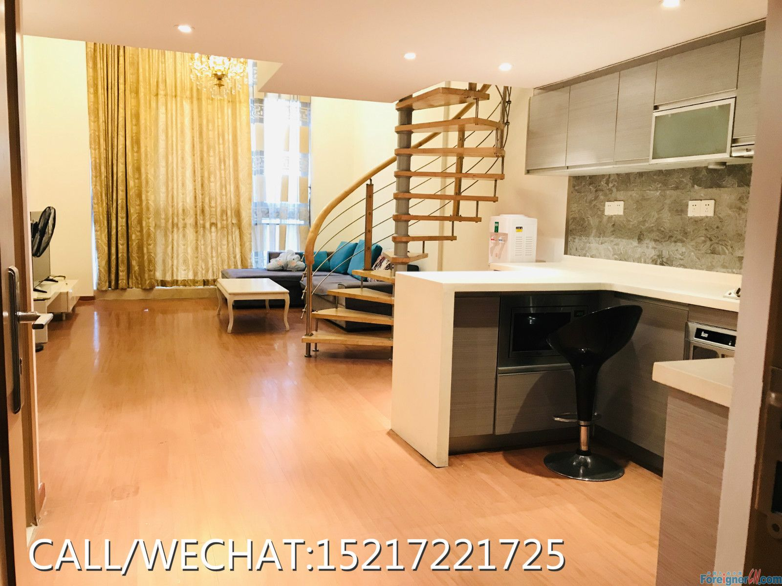 Moon Island-concise style,morden decorate,good price,urgent to rent,nice owner.easy talking.