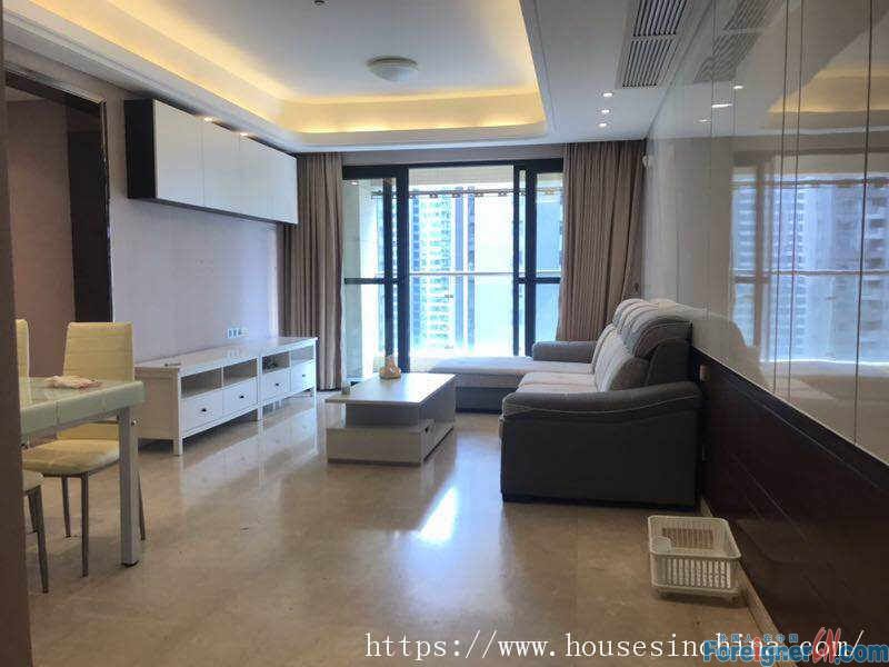 modern 2+1 bedrooms, facing garden, very quietly, good location, near the subway Station.