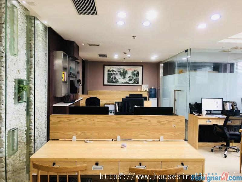 Poly world trade center-special price: 145RMB per SQM, strong commercial atmosphere, nearby the subway station.