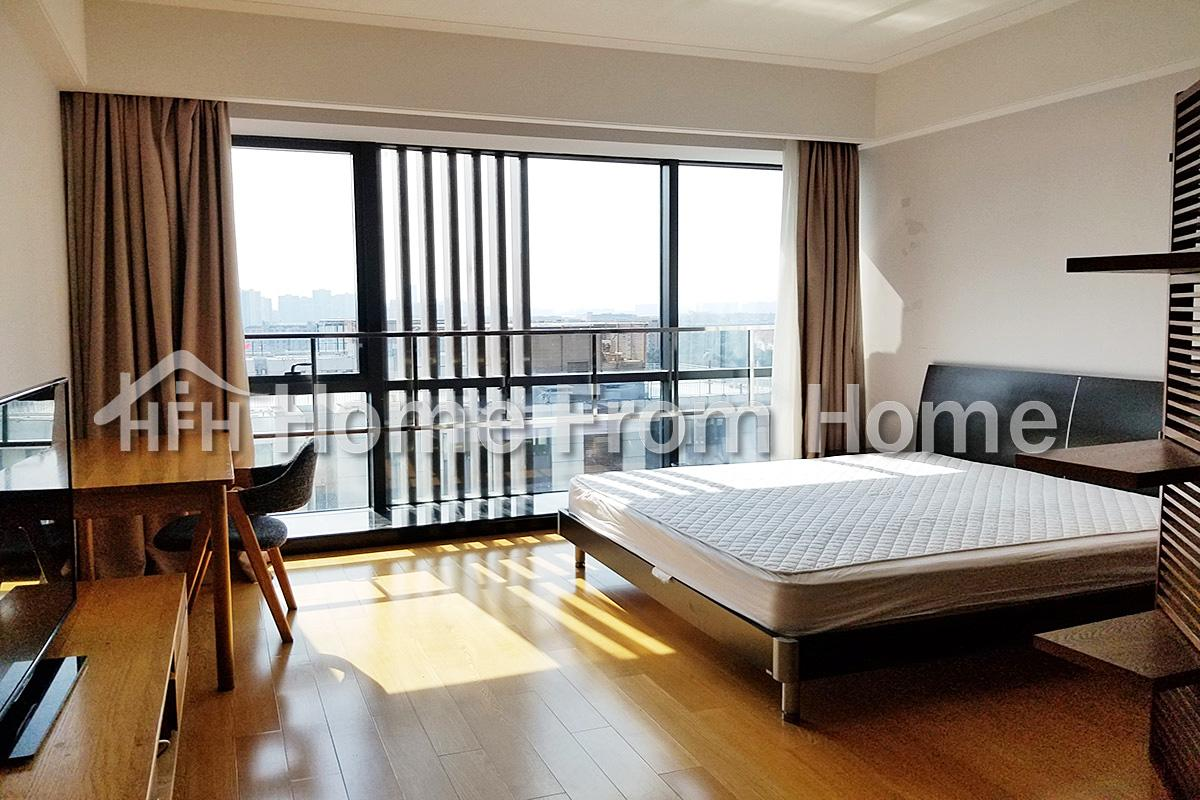 Nice Serviced Apartment in Timesquare/Suzhou SIP CBD/Great Location/Fully Furnished