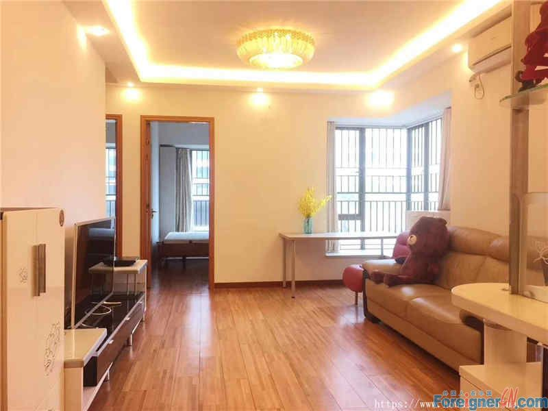 2Br, modern simplicity, fully furnished, new construction,neary the subway station.