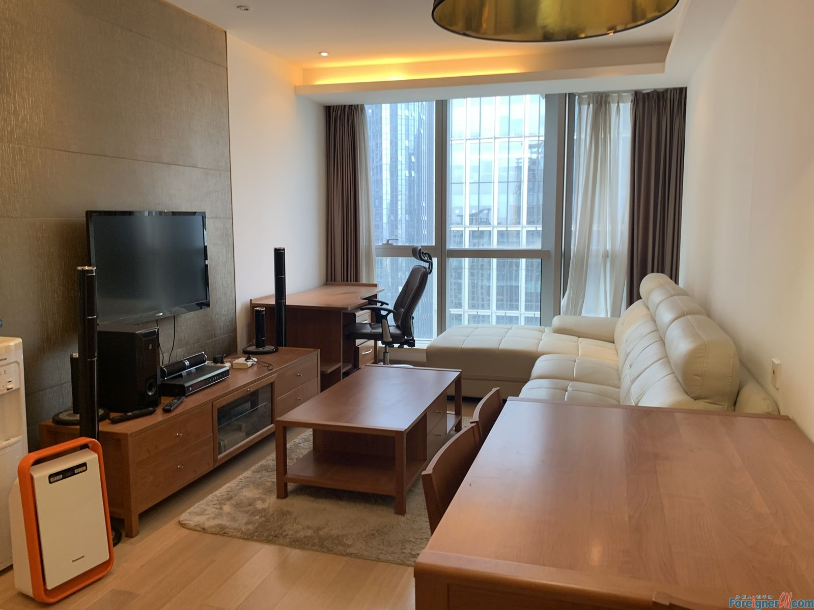 Global 188 2br for rent, SIP, SUZHOU CENTER, XingHai Square metro station