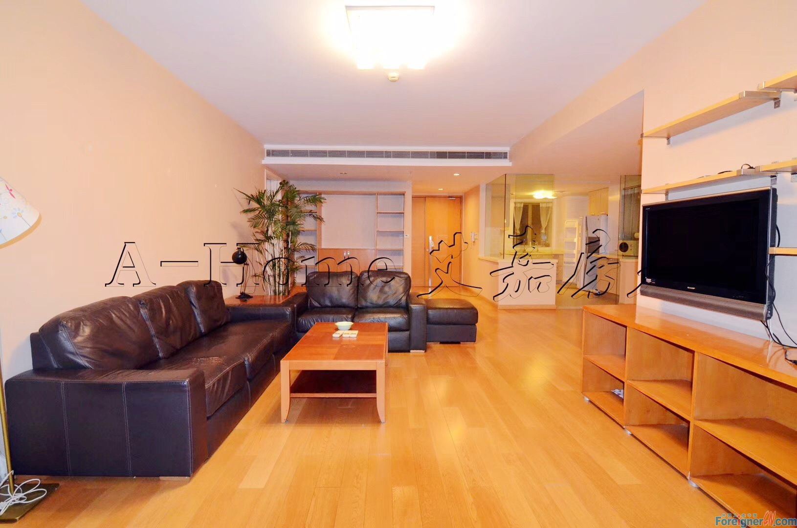 Behind Suzhou Center/360° FULL lake view/Floor Heating/Central Ac/Dishwasher