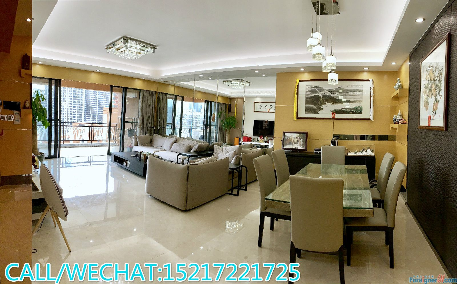 Central park View-high quality decorate,large compound,good layout,good condition,new building,CBD area,convenient.