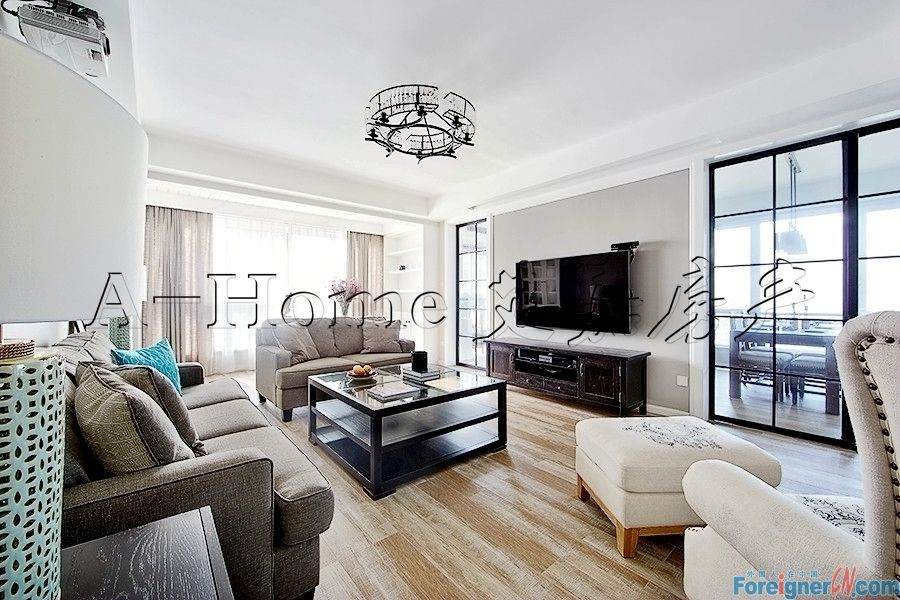 Behind Suzhou Center/The Lakeview/Modern 2 Bdrs/Central ac/Metro