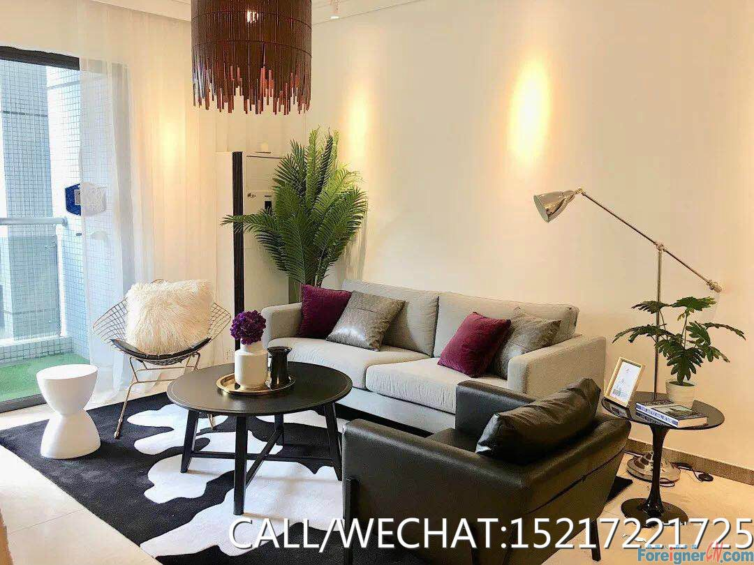 New decorated of 3bedrooms to rent in zhujiang new town,very modrn,big space of each rooms