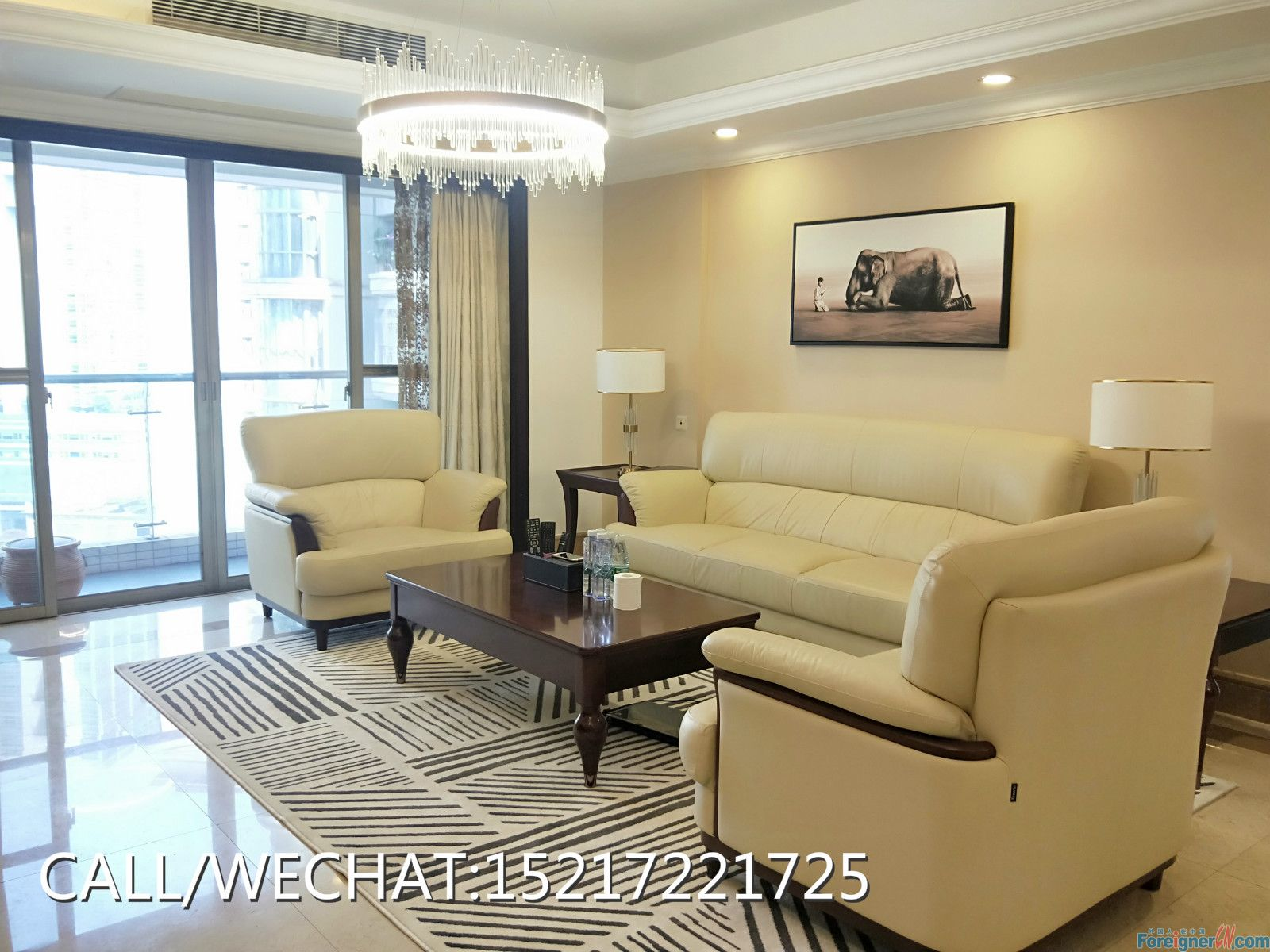 New available of 4bedrooms to rent in zhujiang new town,new furniture with good condition