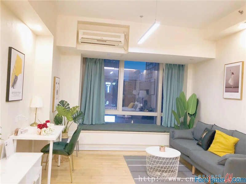 studio,Fully-furnished modern apartment. Near metro station and shopping mall.
