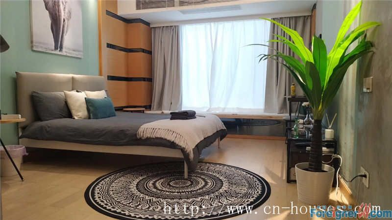 "Single room,fully furnished,good community environment,near Metro station of ""LieDe ""of Line 5."