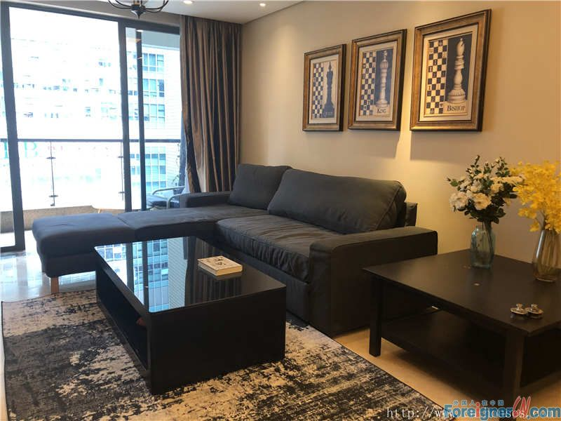 nice 2brs in Zhujiang New Town, fully furnished, morden decorate, good condition.
