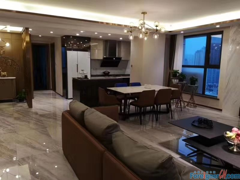 3 bed luxury apartment for rent in Donggang CBD,Zhongshan