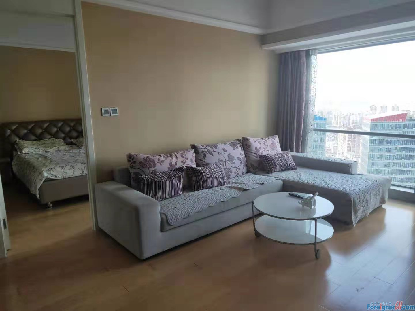 1 bed,1 living room apartment for rent in Eton,Zhongshan