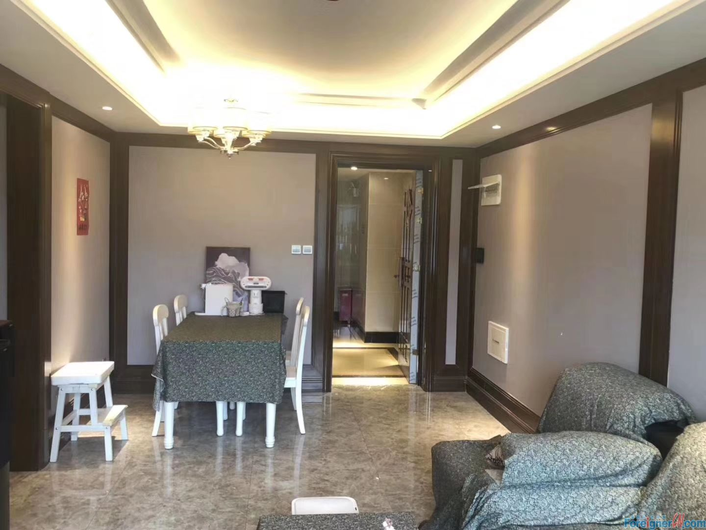 2 bed apartment for rent in Donggang ,Zhongshan.