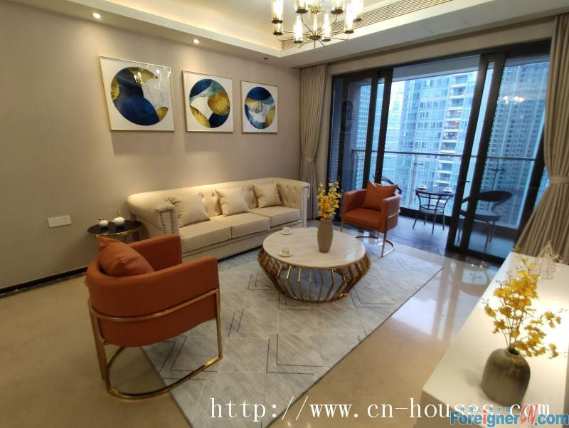 nice 2brs+ one office room, fully furnished, high floor,  nearby the Italian GC