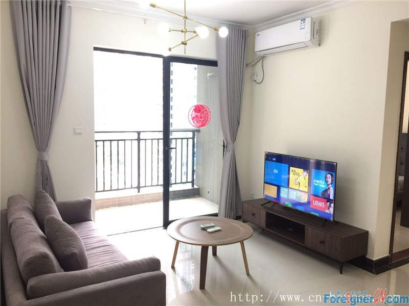Cozy 2brs, brand-new and fully-furnished modern apartments, five minutes walking to subway station.