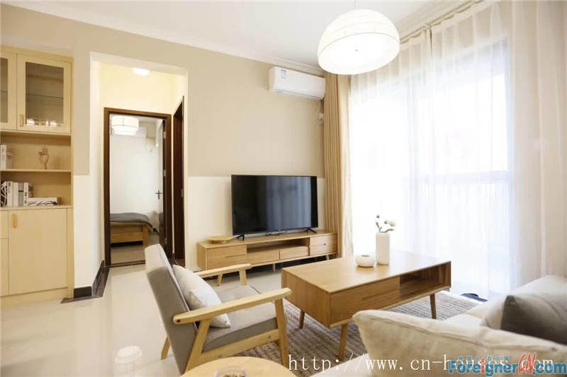 Cozy 2brs, brand-new, fully furnished, 5mins to metro station.