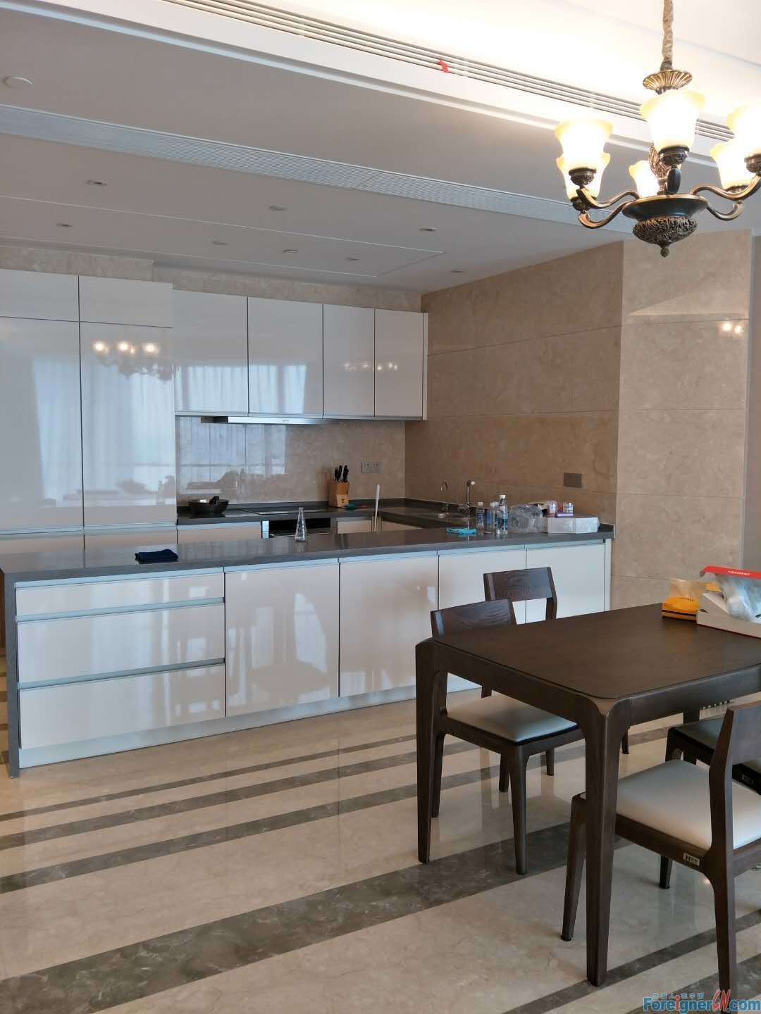 amazing suzhou center 2 big rooms apt 193 square with floor heating open kitchen