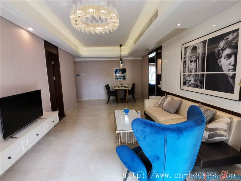 Fully furnished, high floor, open view, new decoration.