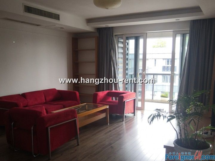 Lake View Apartment By the West Lake for Rent
