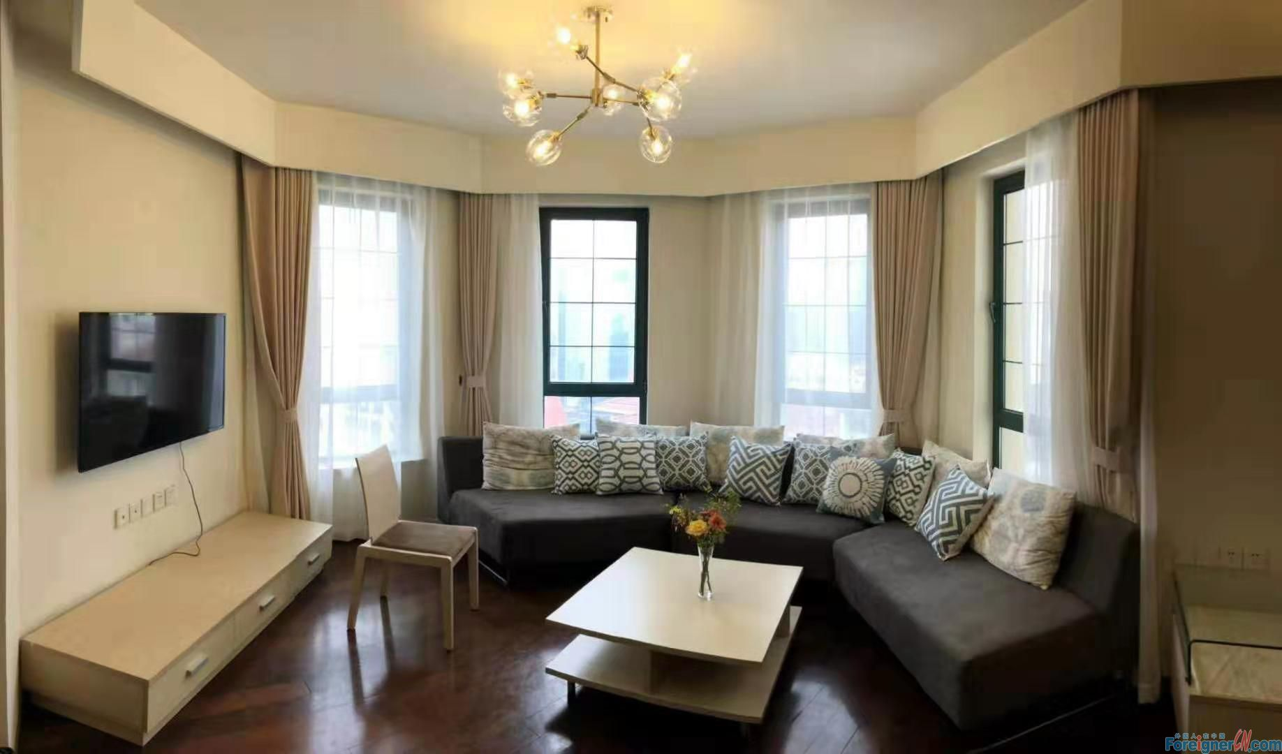 A Horizen Resort /Newly renovated 2 bedrooms in SIP /For Rent/Near Suzhou Center and Metro