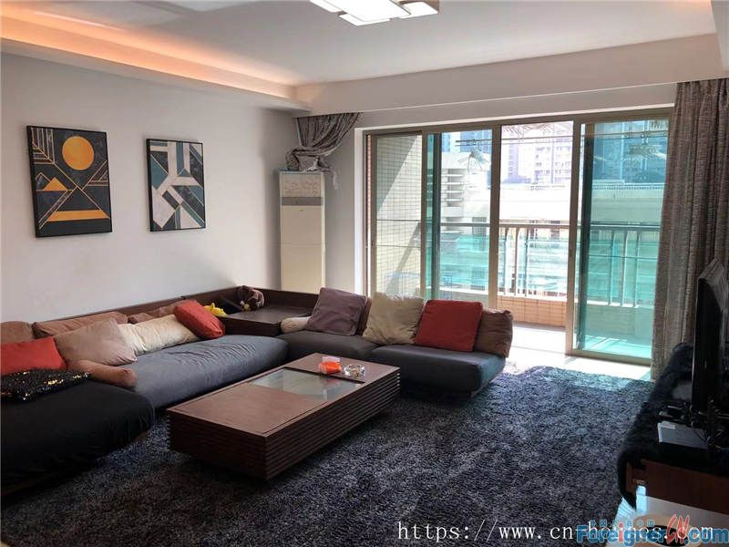Cozy 4brs, fully furnished, good view, new clean,  nearby the metro station.
