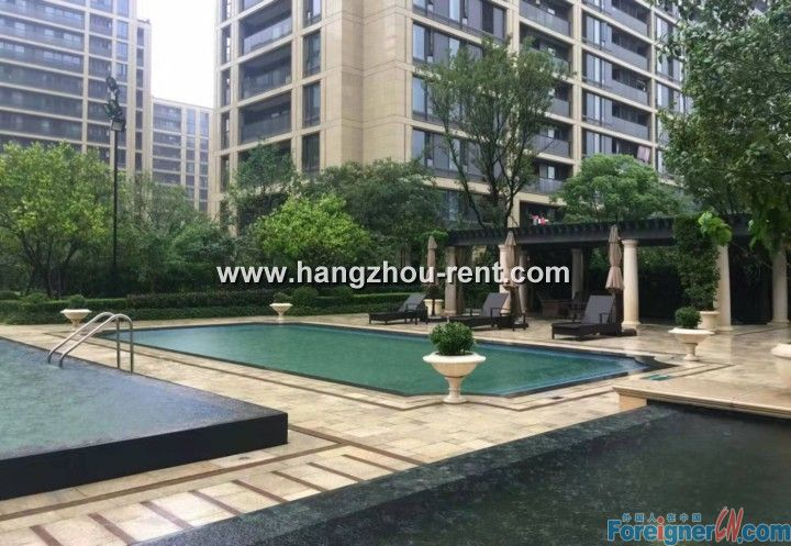 Sincere Garden Apartment in Hangzhou rent