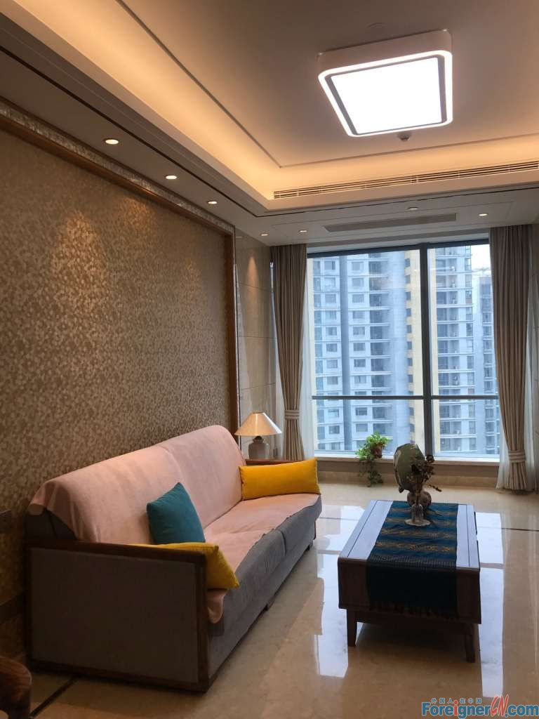 Furnished apartment rent in Suzhou / 2 bedrooms–cozy decoration -furnished spacious-convenient life-smart modern bright