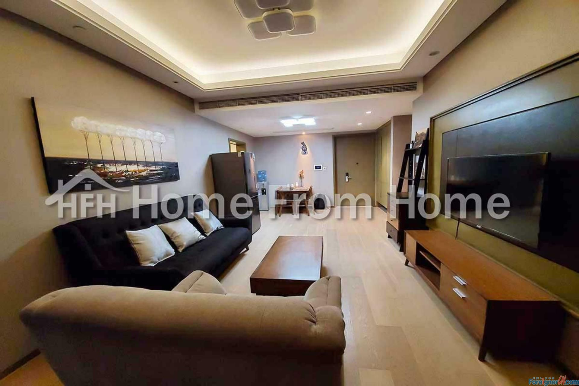 A HongLeong City Center 2 bedroom Serviced Apt/ Central SIP/ Urban Lifestyle with Easy Access to Everything 788 Zhongyuan Road, Suzhou Industrial Park
