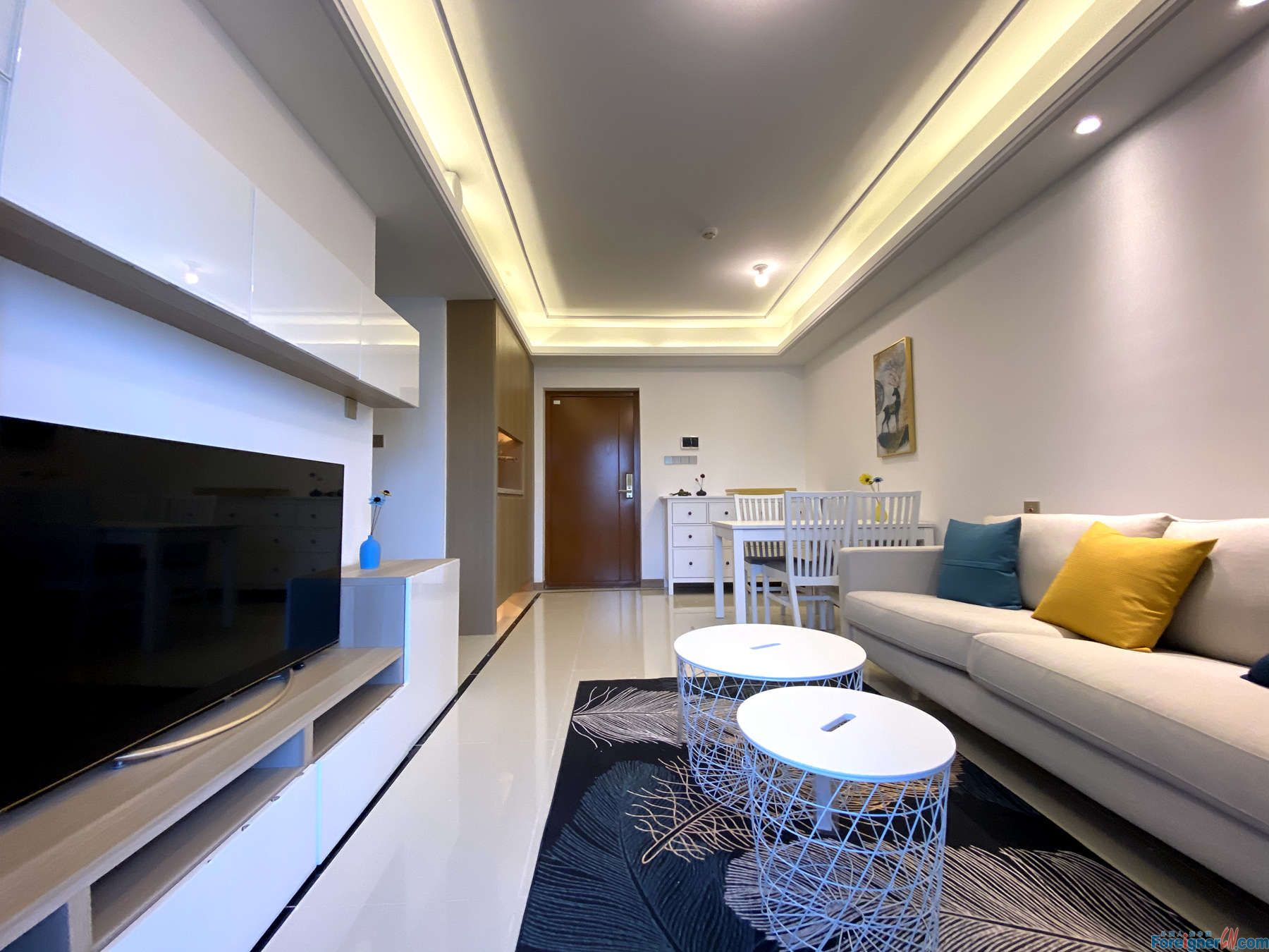 Astonishing! Flats for rent in Suzhou–new brand- furnished-Four season temperature controlling system -cozy decoration