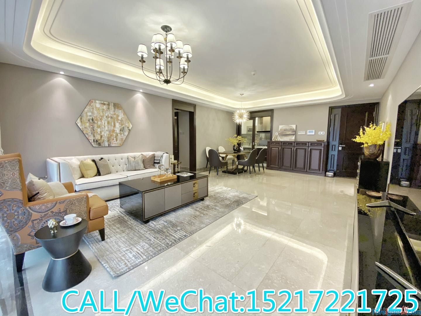 The East-Brand New decoration/High quality furnitures/High floor/CBD AREA/Super convenient.