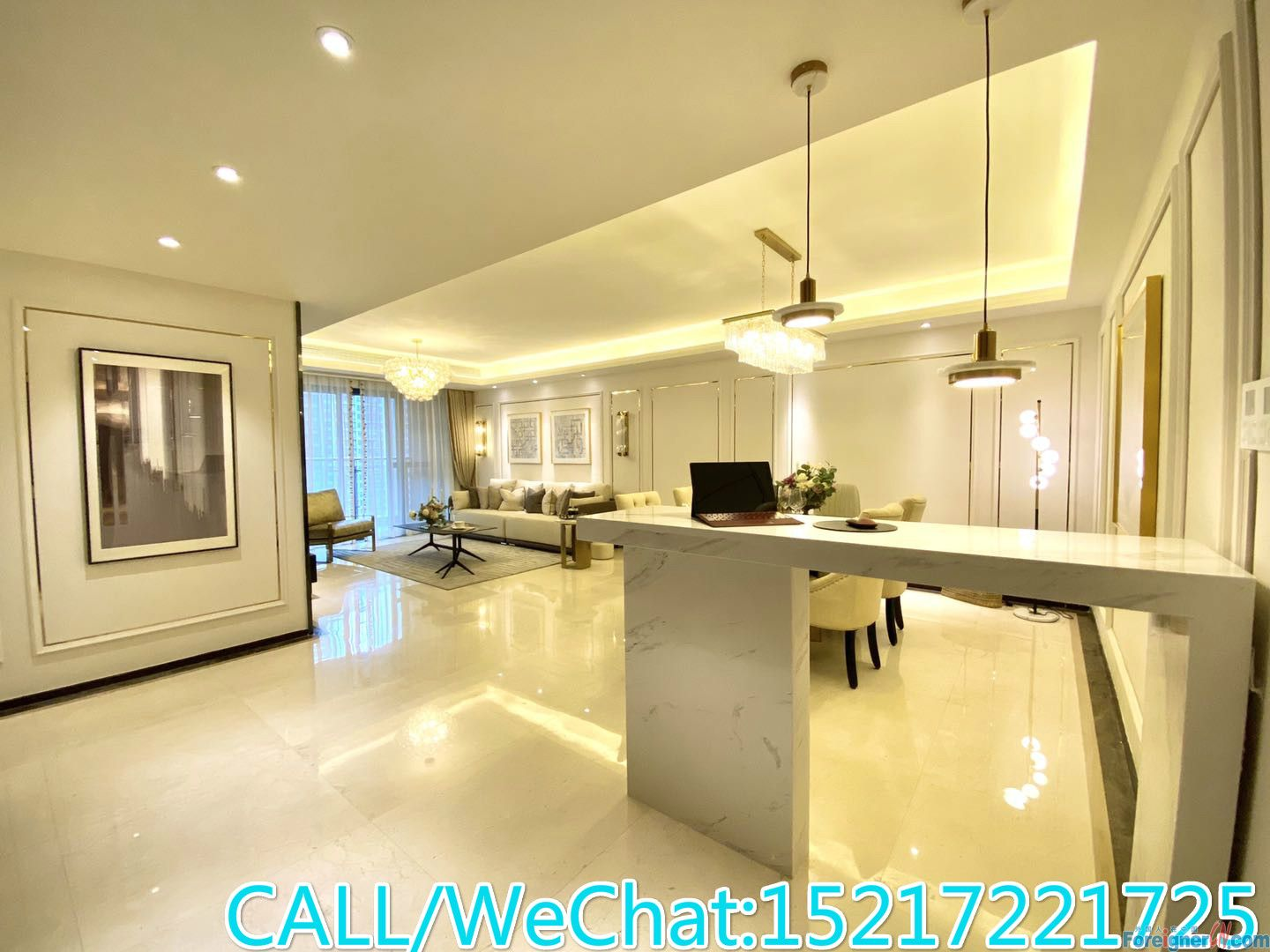 Brand New/High Quaity/Large Living Room/Good Layout/24hrs management/CBD AREA.
