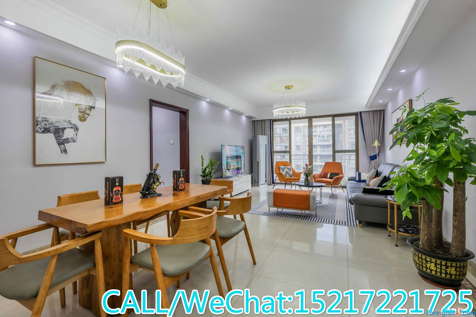 Blossom Cove-concise style 3brs,fully furnished,garden view,quiet place,CBD AREA.convenient.