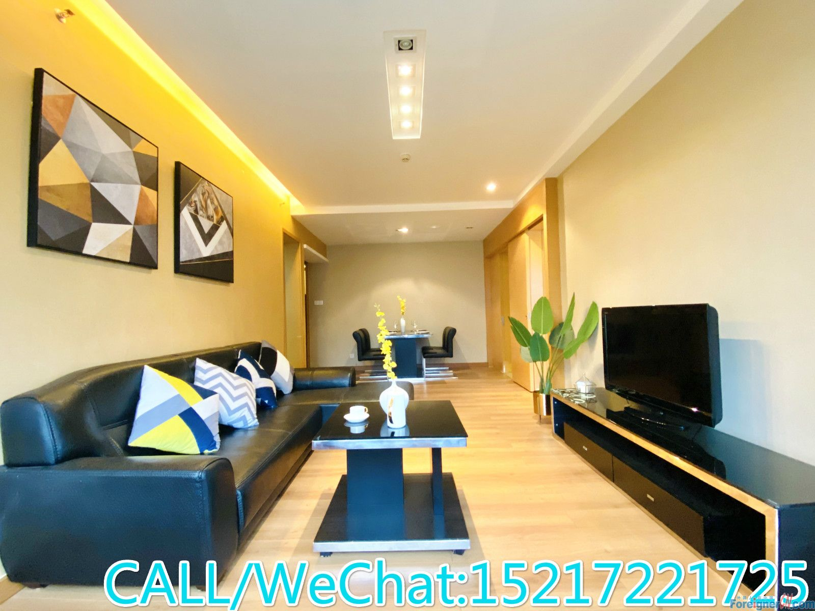 Starry Winking-nice 1br,fully furnished,clean and cozy,gym is free for tenants,CBD AREA.
