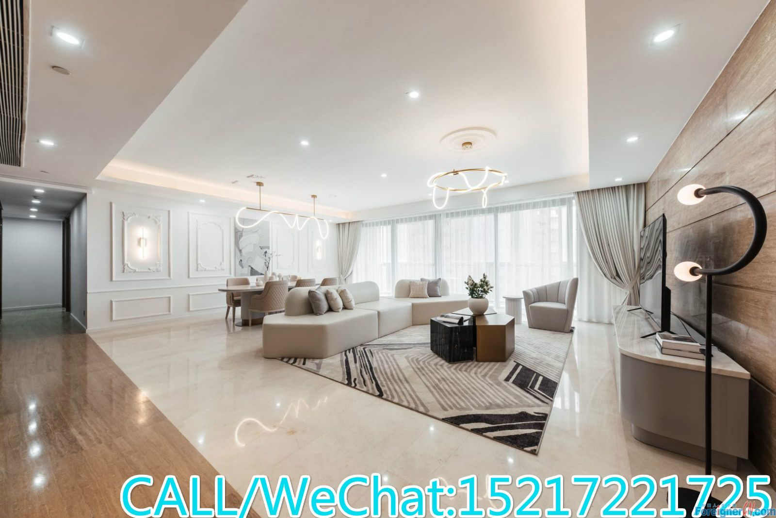Starry Winking-Brand new 4brs avaliable now,large living room,good layout,good condition.CBD AREA.super convenient.