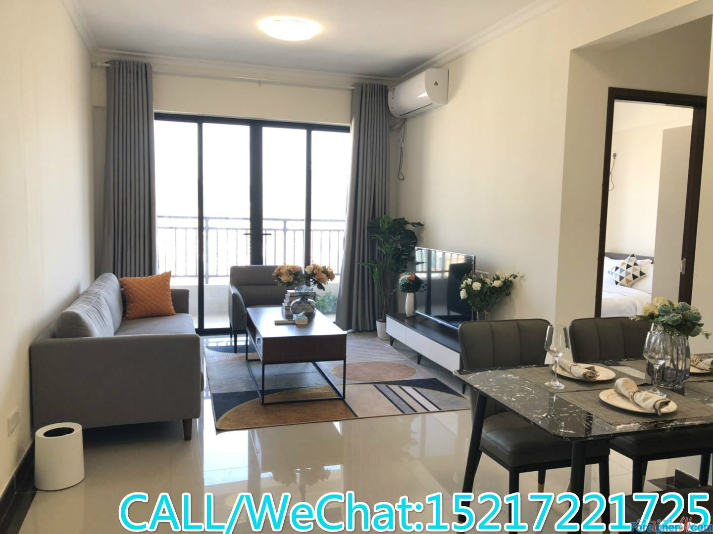 Cozy 2brs,fully furnished,almost new decoration,CBD AREA,convenient for ur life.