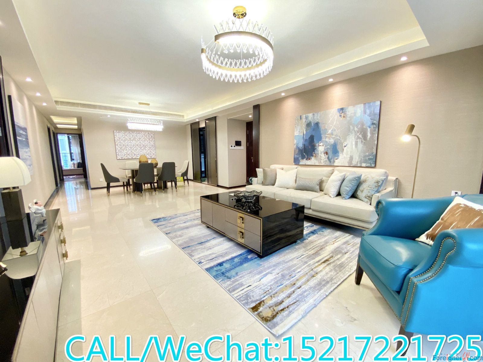 JIA YU MANSION-Brand New 4brs,large living room,high quality decoration,good condition,CBD AREA.