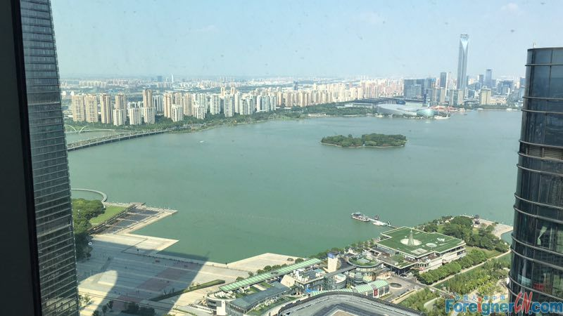 New Apartment in SIP! Super Lake view& City View!!Suzhou Center No.9/ Convenient to public transportation and entertainment