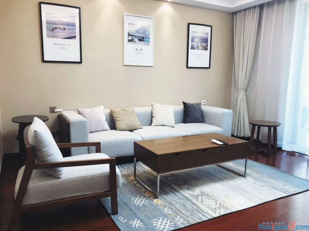 Wonderful ! Realtors in Suzhou –new furniture with garden-brand new-convenient life - nearby subway station-floor heating